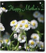 Happy Mother's Day 03 Acrylic Print