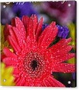 Happy Mother's Day Acrylic Print