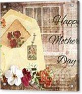 Happy Mother's Day Acrylic Print