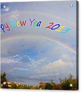 Happy New Year 2013 Acrylic Print