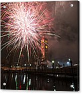 Happy New Year 2014 B Acrylic Print