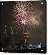 Happy New Year 2014c Acrylic Print