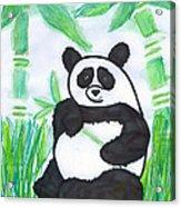 Happy Panda O.o. Acrylic Print