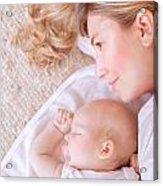 Happy Parenthood Concept Acrylic Print