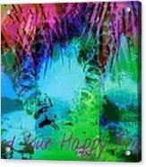Happy Place 1 Acrylic Print