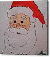 Happy Santa Claus Acrylic Print
