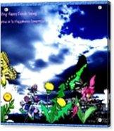 Happy Seeds Inspiration Acrylic Print