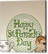 Happy St Patrick's Day  Acrylic Print
