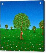 Happy Walking Tree Acrylic Print