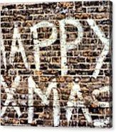 Happy Xmas Acrylic Print