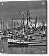 Harbor And Marina Monterey 2 Acrylic Print