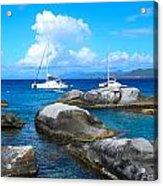 Harbor At The Baths Acrylic Print