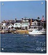 Harbor Day Acrylic Print