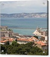 Harbor Entrance Marseille Acrylic Print