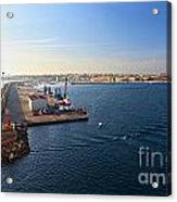 harbor in Porto Torres Acrylic Print