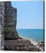 Harbor Island Ruins 1 Acrylic Print