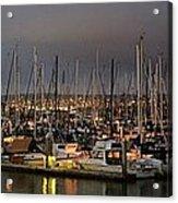 Harbor Lights Acrylic Print