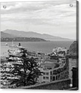 Harbor Lookout - Monte Carlo Acrylic Print