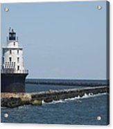 Harbor Of Refuge Lighthouse II Acrylic Print