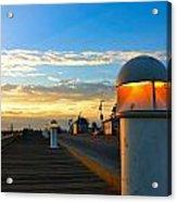 Harbor Pathway Acrylic Print