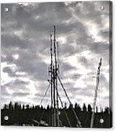 Harbor Reflection Acrylic Print