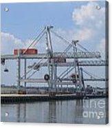 Harbor Rotterdam Acrylic Print
