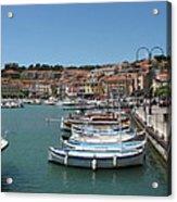 Harbor Scene Cassis  Acrylic Print