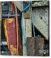 Harbor Shanty Acrylic Print