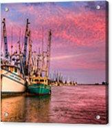 Harbor Sunset Acrylic Print