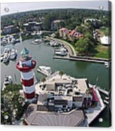 Harbor Town 1 In Hilton Head Acrylic Print