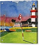 Harbour Town 18th Sc Acrylic Print