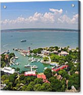 Harbor Town 3 In Hilton Head Acrylic Print