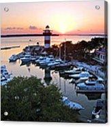 Harbor Town 4 In Hilton Head Acrylic Print