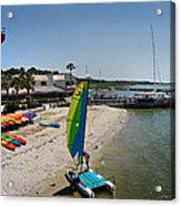 Harbor Town Beach 2 In Hilton Head Acrylic Print