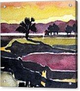 Harbour Town Dusk Sc Acrylic Print