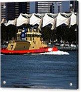 Harbor Tug Acrylic Print