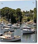 Harbor Views Acrylic Print
