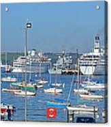 Harbour And Queen's Wharf - Falmouth Acrylic Print