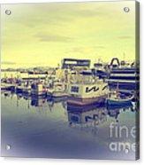 Harbour At Reykjavik Acrylic Print