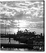 Harbour Clouds Acrylic Print