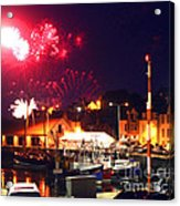 Harbour Fireworks Acrylic Print