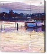 Harbour Lights - Apollo Bay Acrylic Print