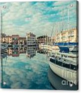 Harbour Of Grado Acrylic Print