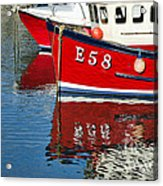 Harbour Reds Acrylic Print