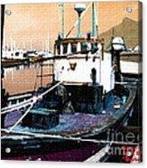 Harbour Scene Acrylic Print