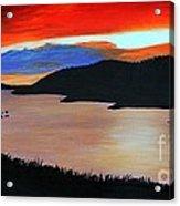 Harbour Sunset Acrylic Print