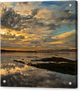 Harbour  Sunset Acrylic Print by Rod Sterling