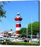 Harbour Town Lighthouse Acrylic Print