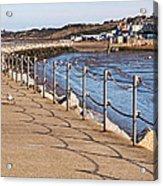 Harbour Wall Promenade Acrylic Print