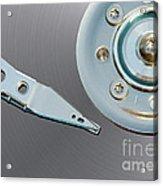Hard Disc Acrylic Print